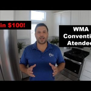 A Chance to WIN $100 at the WMA Convention 2019. Offered by the Manufactured Housing Expert