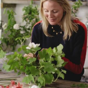 Willow Crossley creates a flower arrangement for a summer table | House & Garden