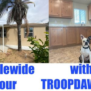 3 Bedroom Doublewide Manufactured Homes. New Home Tour. Mobile Homes in San Diego.