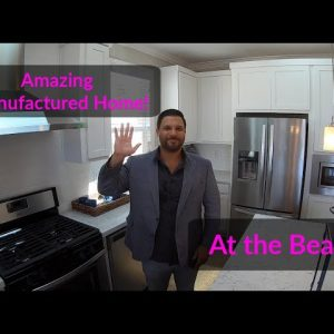 Amazing Manufactured Home and Mobile Home Park at the Beach with Ocean Views! Tiny Homes.Tiny Houses