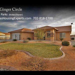 1711 Ginger Circle video Michael Parks, Las Vegas Housing Experts