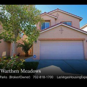 8523 Warthen Meadows video tour Las Vegas Housing Experts