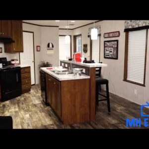 Advantage 1680 261   Mobile Home Tour by Redman Homes. Manufactured Homes