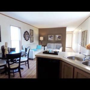 Advantage Mobile Home Tour by Redman Homes.