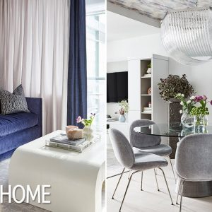 Before & After: A Dated Condo Gets A Hotel-Chic Makeover