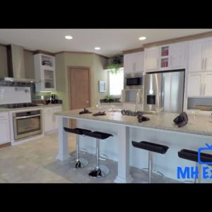 Best Kitchen Mobile Home Tour Ever!