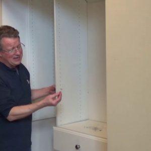 Closet Organizer - Easy Track Installation