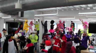 Coastal Housing Group Comic Relief Harlem Shake