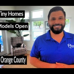 TINY HOME Tours in Orange County. Park Models, Manufactured Homes, Modular Homes for Sale. FREE Tour