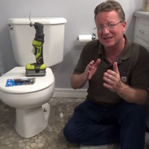 Cutting Down Toilet Bolts