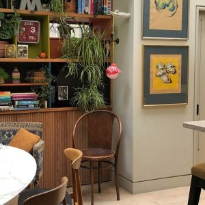 Inside Lucy Hammond-Giles' light-filled kitchen office   My Workspace   House & Garden