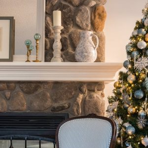 House Tour | Winter Greenery Brings This Family Home Into The Holiday Spirit