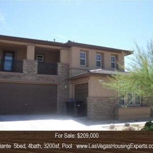 Aliante Home with Huge Pool Spa Waterfall, Las Vegas Housing Experts, Michael Parks