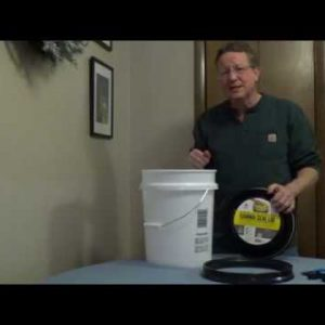 Food Grade 5 Gallon Buckets - Long Term Food Storage