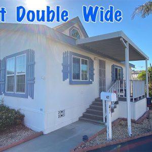 Cutest Double Wide for Sale in Orange County. Rancho La Paz Mobile Home Park. 47 Spruce Via.