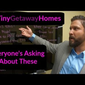 Growing demand for Tiny Getaway Homes in California. Park Models, Vacation Homes, ADU's, Tiny House