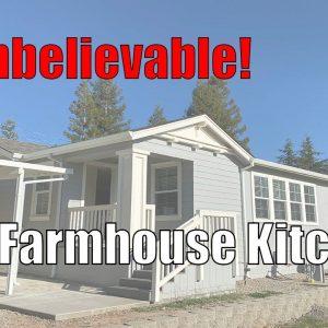 Amazing Farmhouse Kitchen & Walk-in Closet. Balboa Island Series Built by Karsten. Clayton Homes.