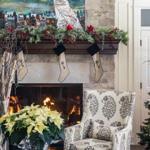 House Tour | A Designer's Casually Elegant Christmas Home Makeover