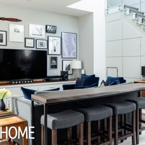 House Tour: Handsome Bachelor Pad Condo
