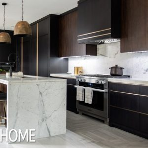 House Tour: Luxe Dark & Modern Kitchen