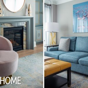 House Tour: Luxury Townhouse With Pops of Color