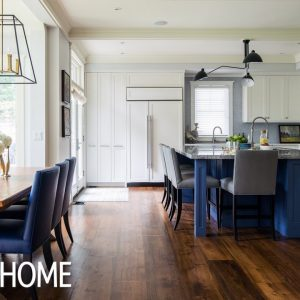 House Tour: Traditional Home With Colorful Accents