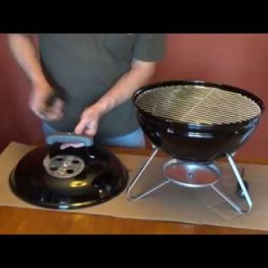 How to Assemble the Weber Smokey Joe Charcoal Grill