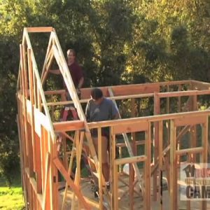 How to Install Trusses - Freeze Blocks and Second Truss