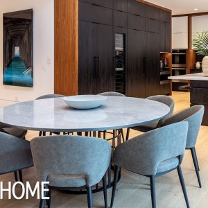 This Luxe New-Build Mixes Modern Architecture With Sleek Interior Design