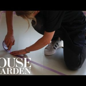 Look Down: How to paint a geometric floor pattern | Farrow & Ball | House & Garden