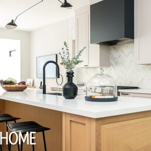 Kitchen Makeover: A White & Wood Palette Wows