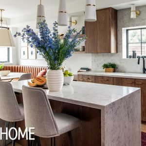 Kitchen Makeover: Wood Cabinets Are Back & Sleeker Than Ever