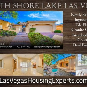 Lake Las Vegas South Shore Villa (full aerial tour)