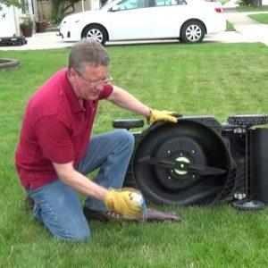 Lawn Mower Deck Spray