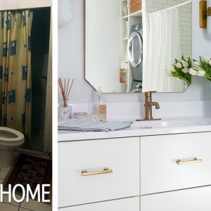 Makeover: An Unbelievable Bathroom Overhaul