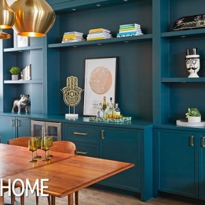 Makeover: Big Impact With Colored Cabinets