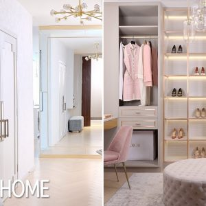 This Condo Makeover With A Glamorous Walk-In Closet Is The Definition Of #GirlBoss