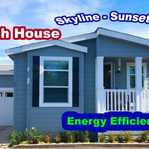 Energy Efficient Mobile Homes for Sale in San Diego at the Beach. Best Location of the Community.