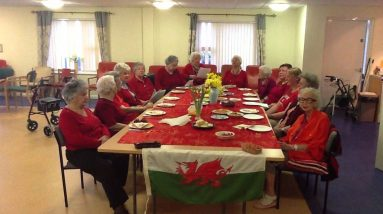 Our tenants at Ysbryd Y Mor - Calon Lan 2014
