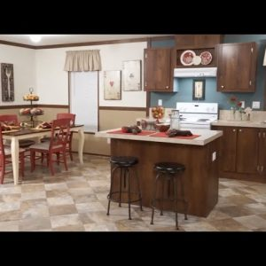 Perfect Kitchen for Your Family.  Mobile Home Tour. New Home Tour