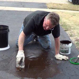 Pothole Repair - Driveway Asphalt Patch