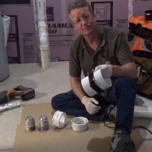 Radon Fan Installation to a Passive Radon Mitigation System