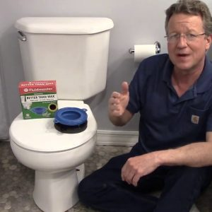 Replace Toilet Bolts and Toilet Gasket