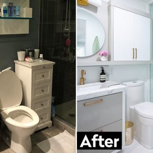 See This Small Condo Bathroom Transform Into A Luxe At-Home Spa