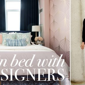 This Colourful Rental Bedroom Is Over The Top Glam!