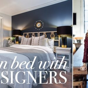 Tour This Moody Bedroom With A Dreamy Walk-In Closet