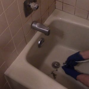 Unclog a Bathtub Drain - Drain Snake