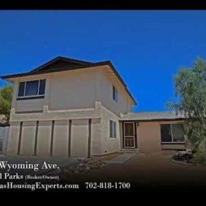 3858 Wyoming video tour, Las Vegas Housing Experts, Michael Parks, real estate