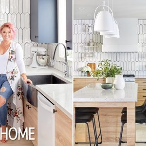 Designer Jo Alcorn Designs a Multifunctional Two-Tone Kitchen