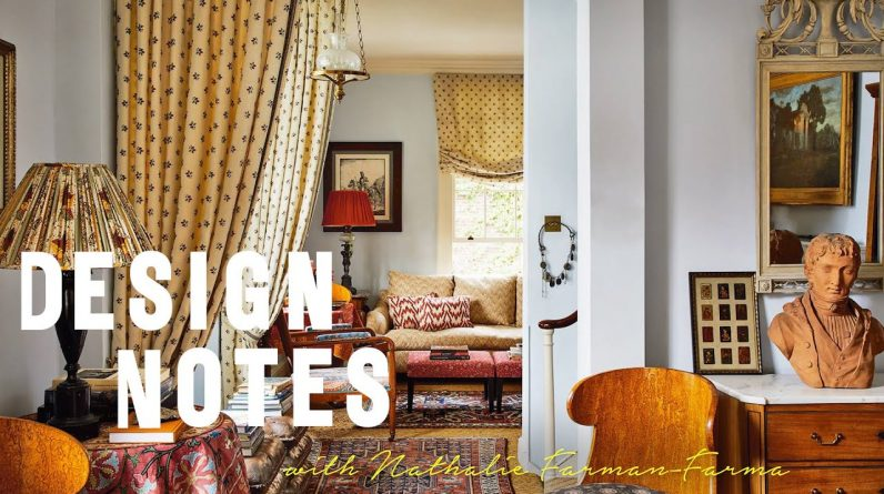 Nathalie Farman-Farma shows us around her pattern-filled house | Design Notes | House & Garden